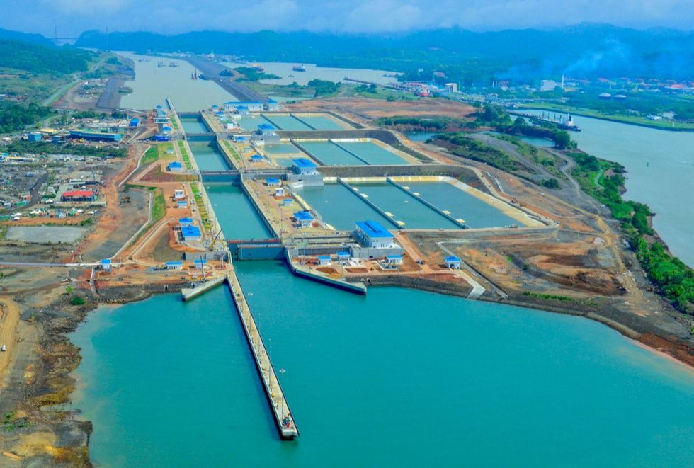 Inauguration of new expanded Panama Canal