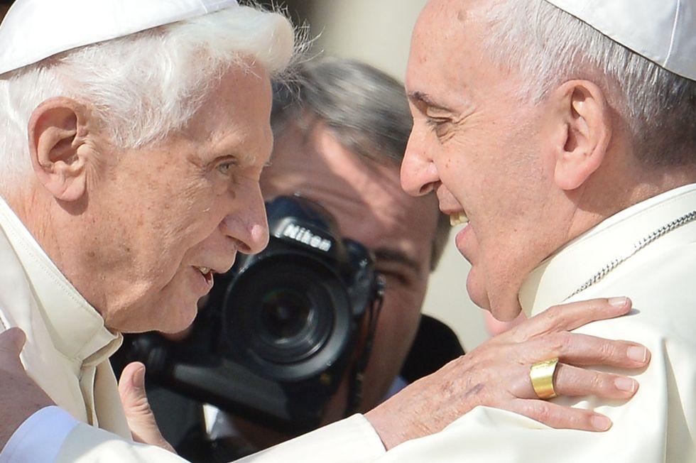 papa-francesco-papa-ratzinger
