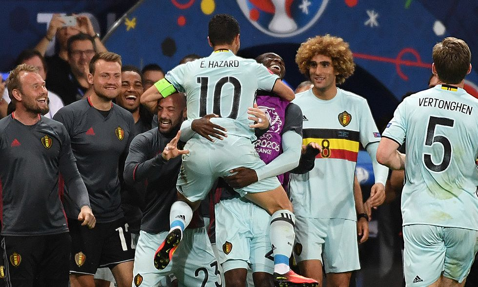 Euro 2016, ottavi: Ungheria - Belgio