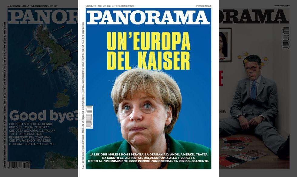 Merkel e l'Europa del Kaiser