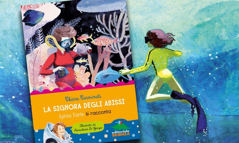 'La signora degli abissi': Sylvia Earle raccontata ai ragazzi