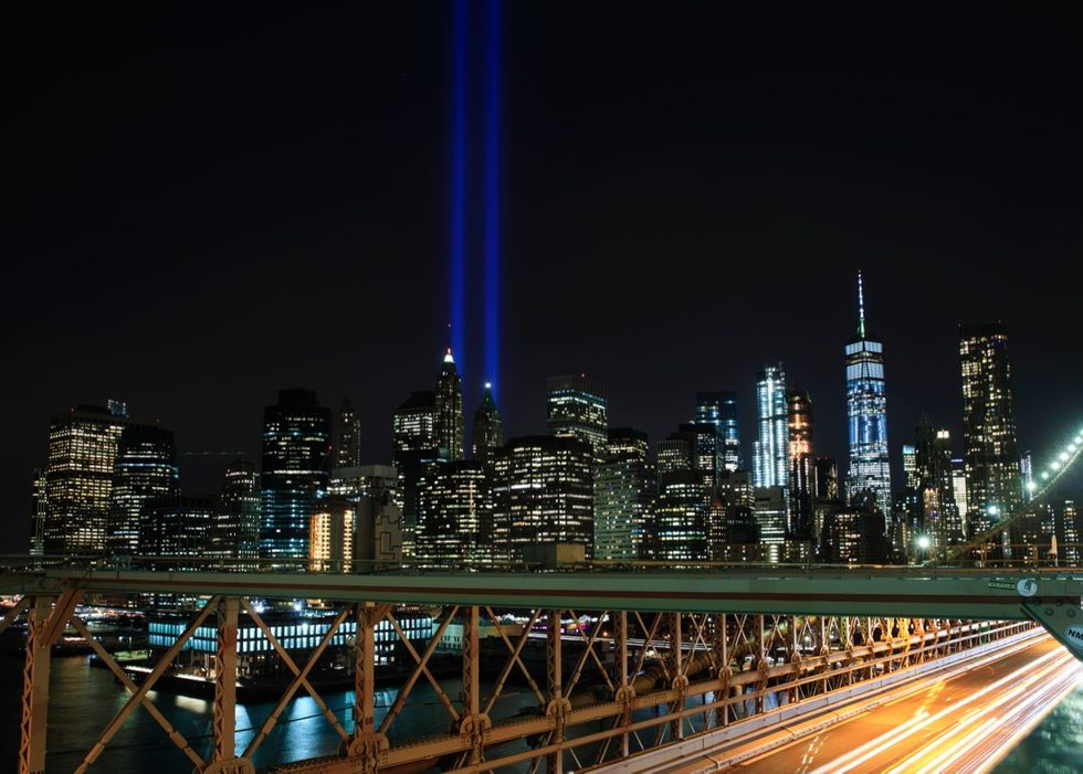 15th Annual Commemoration Ceremony Held At WTC Site For 9/11 Terror Victims