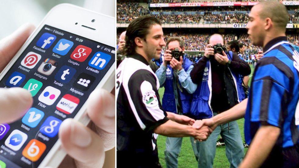Juventus - Inter: il derby d'Italia visto dai social network