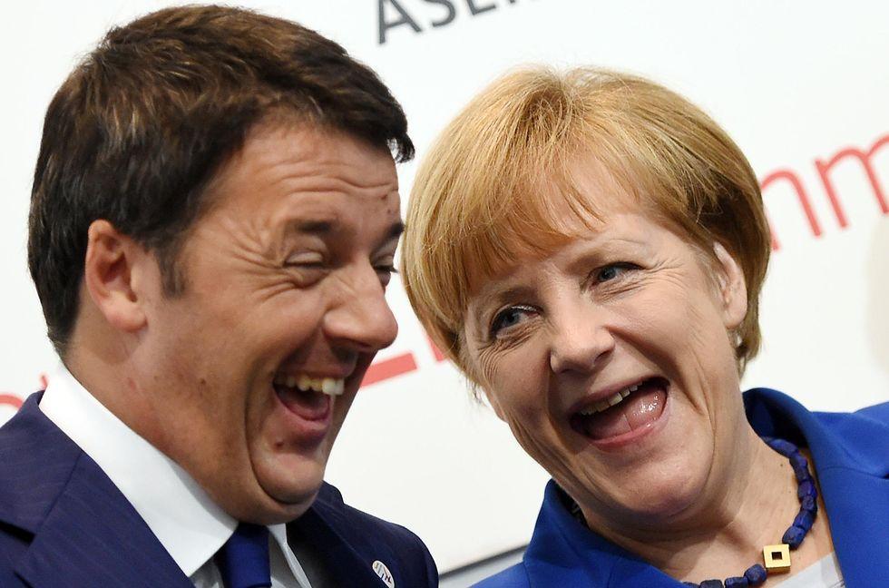 Italia-Germania, la partita si gioca sul tasso zero