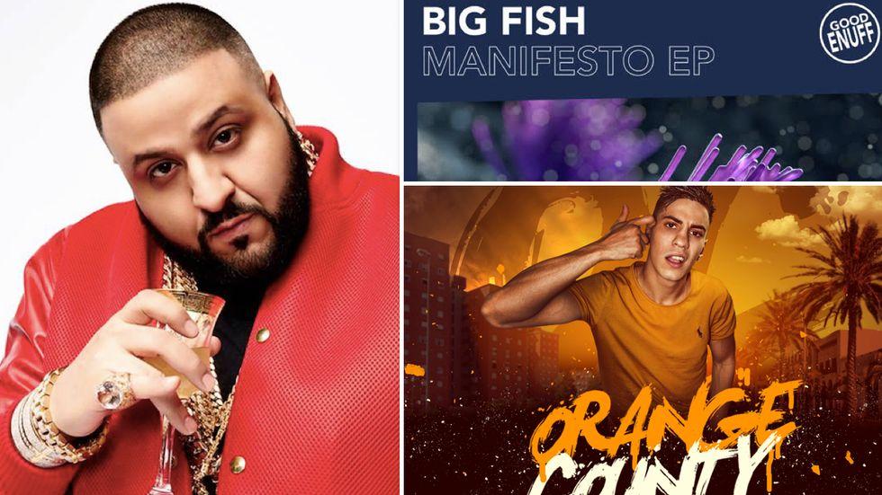 Rap: La hit di dj Khaled, l'ep di Big Fish e il mixtape di Tedua