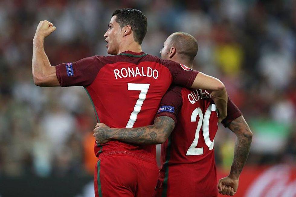 Ascolti 30/06: Polonia-Portogallo monopolizza il prime time