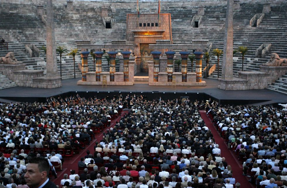 Opera Festival 2012 at the Arena of Verona