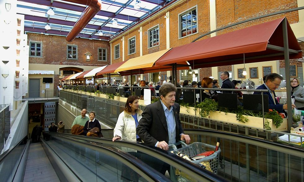 Eataly, If you're not hungry, don't come in here