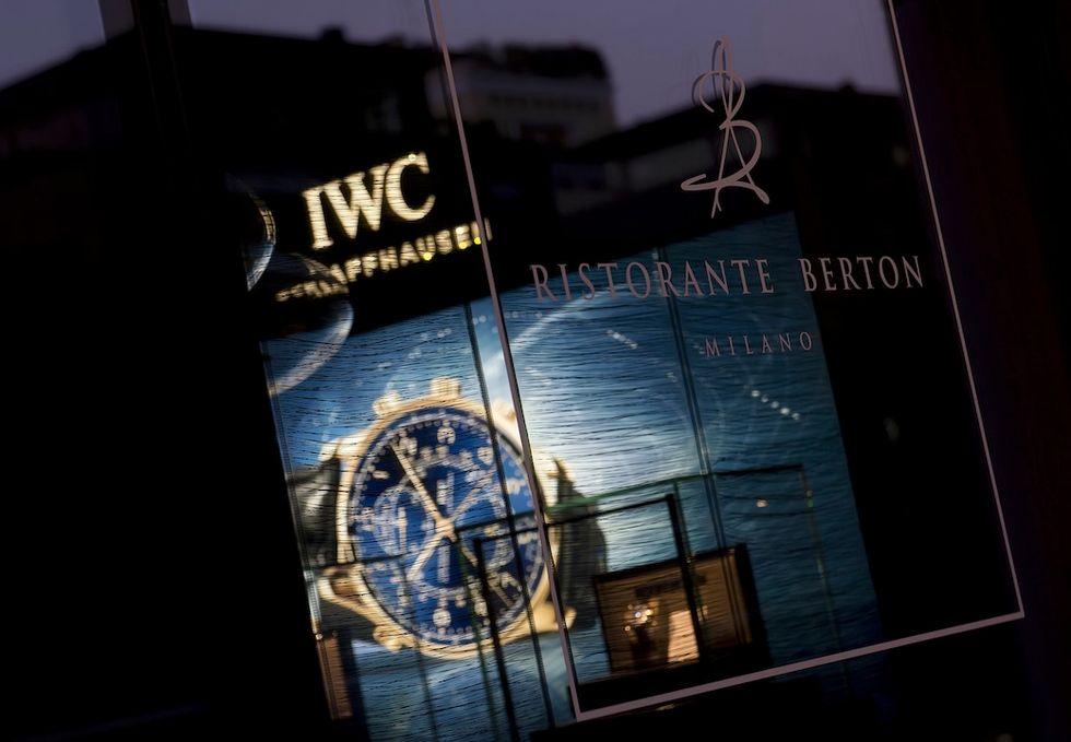 IWC CELEBRATES BOUTIQUE OPENING IN MILAN