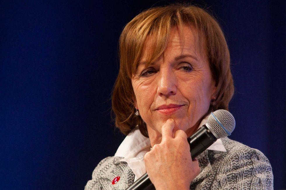 Italian welfare minister Elsa Fornero flunks