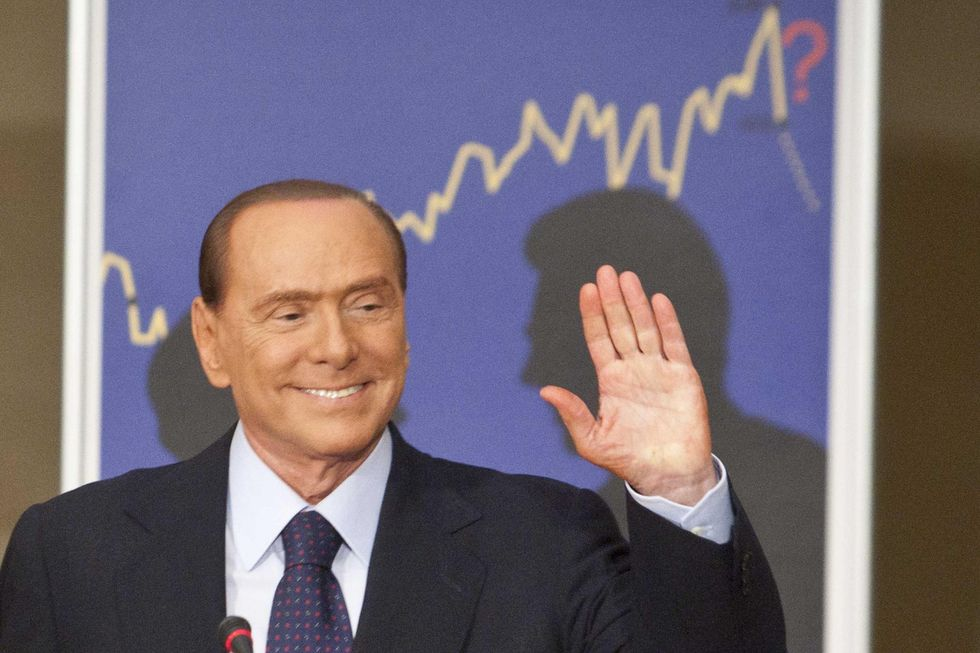 Italian former PM Berlusconi says he will not run in spring elections