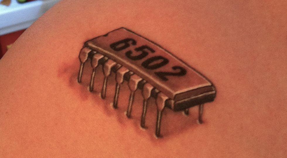 chip tattoo