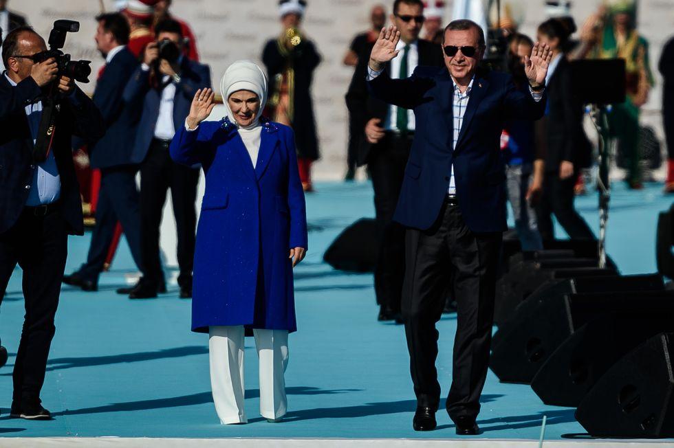 Le spese pazze della First Lady turca