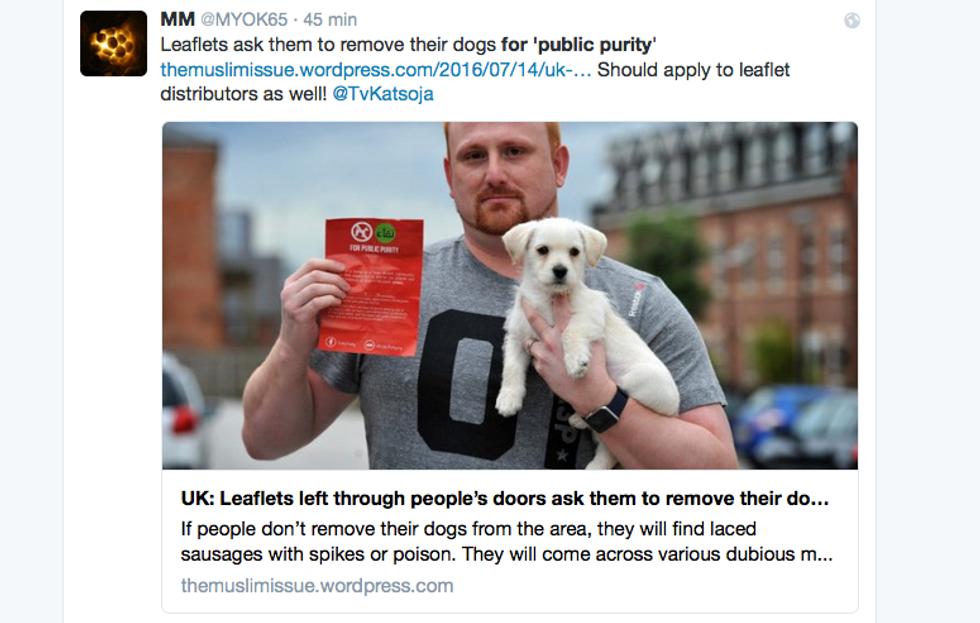 Cani vietati perchè impuri
