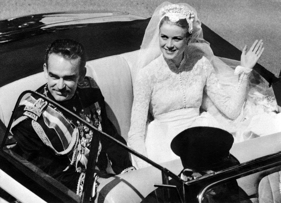 La principessa Grace con il Principe Ranieri III