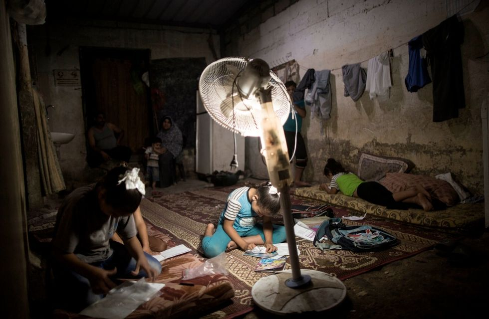 gaza palestina blackout