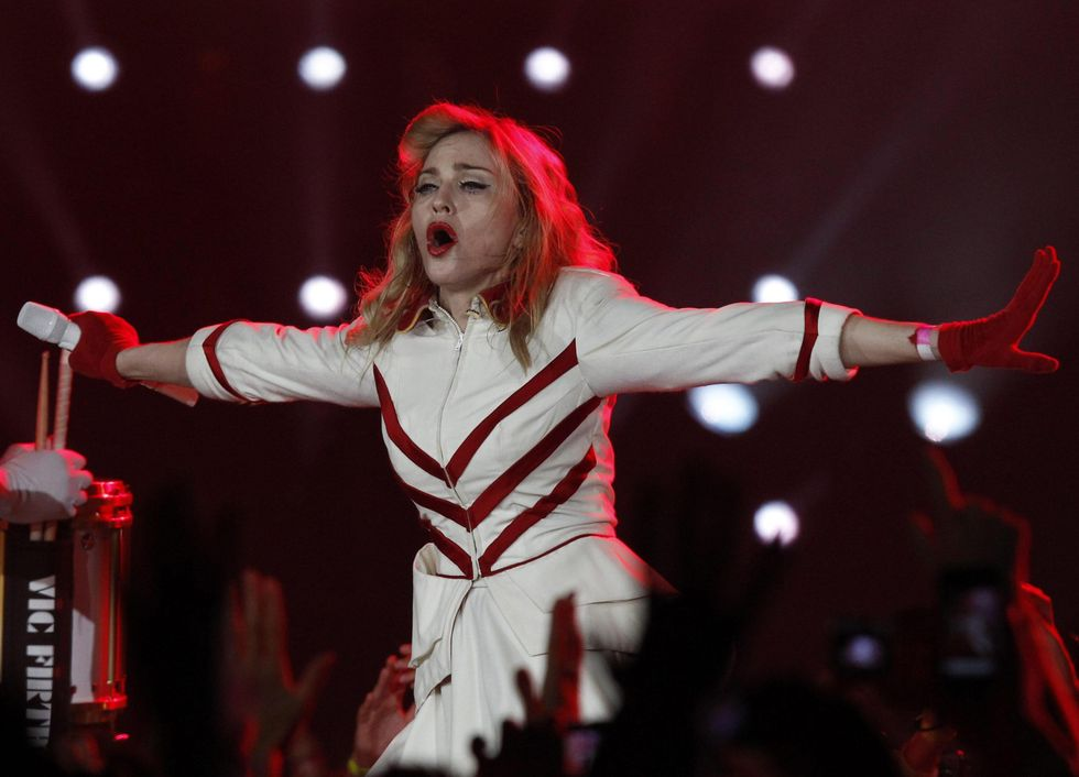 Pop star Madonna to open a gym in Rome