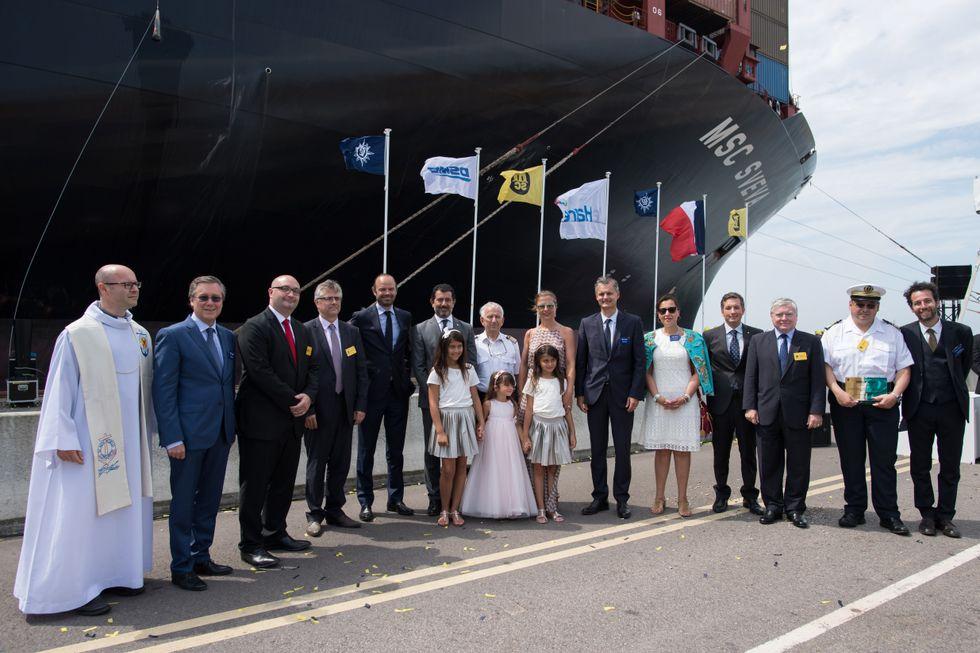 Ecco la nave portacontainer più grande del mondo