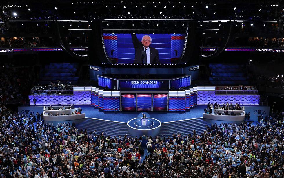 Convention dei Democratici a Filadelfia