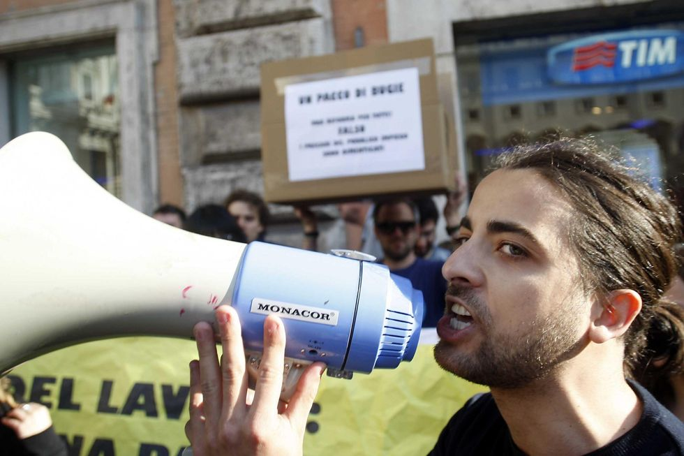 Italy pushing for a EU plan against youth unemployment