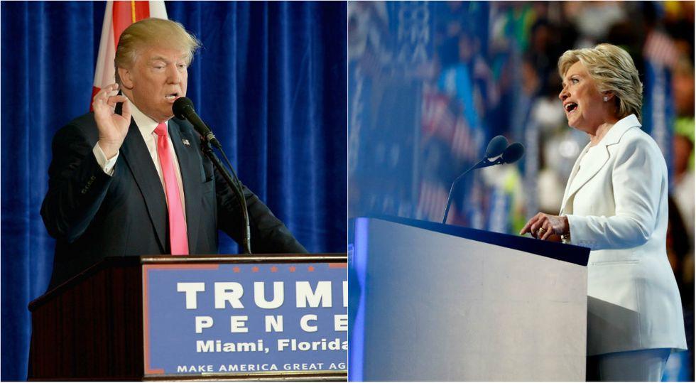 clinton-trump-discorso-convention
