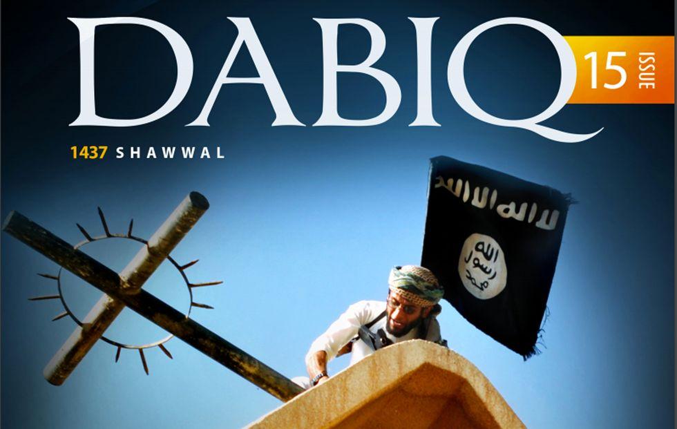 """Dabiq, il giornale dell'Isis che ora invita a """"rompere la Croce"""""""
