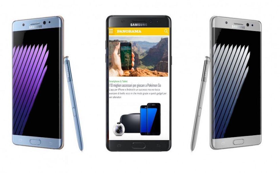 Samsung Galaxy Note7: 50 euro a chi aspetta il nuovo smartphone