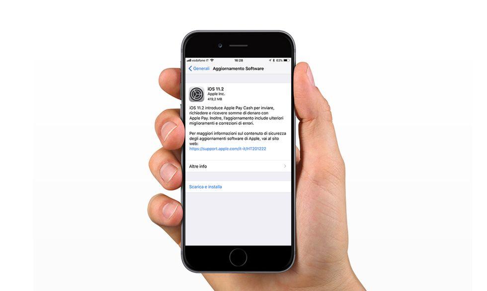 Apple iOS 11.2: perché scaricare l'aggiornamento