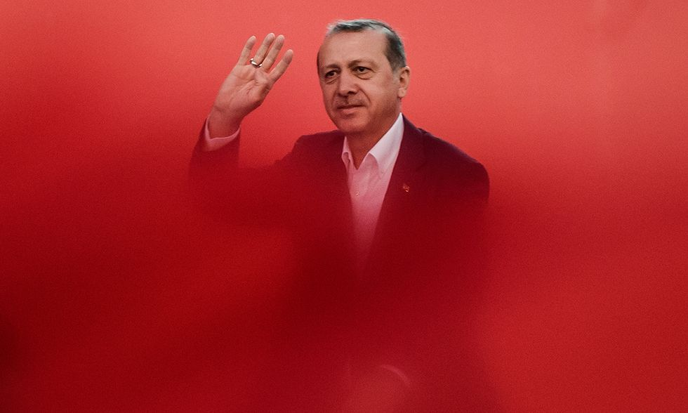 Turchia, la piazza a sostegno di Erdogan