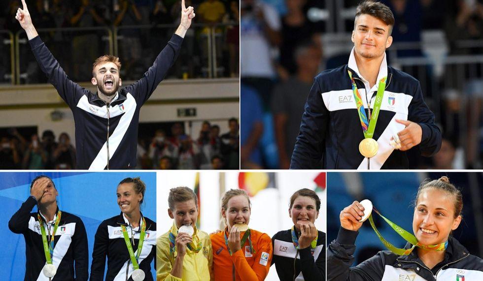 Rio2016-italiani-medaglie