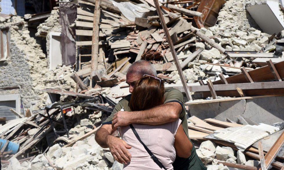 Terremoto Pescara del Tronto