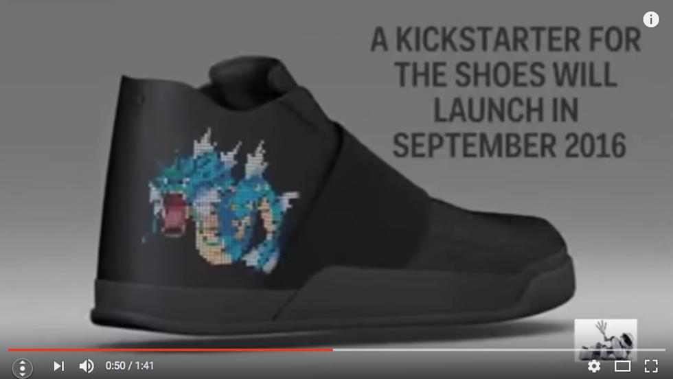 Le scarpe che aiutano la caccia ai Pokémon