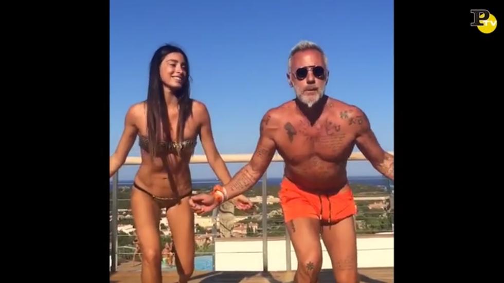 Gianluca Vacchi balletto video giorgia gabriele