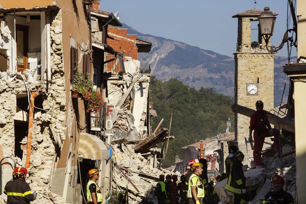 In Centro Italia la terra trema ancora