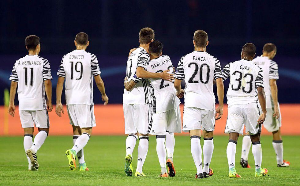 Dinamo Zagabria Juventus champions league