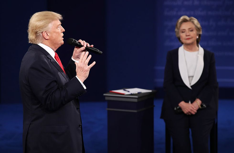 clinton-trump dibattito