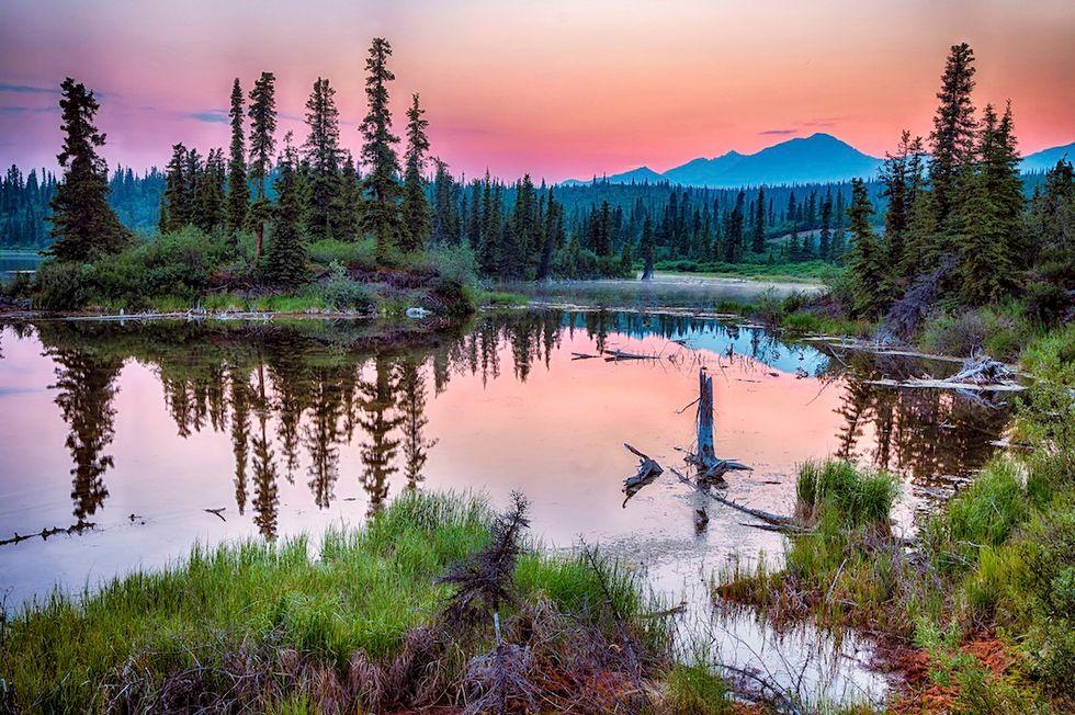 Villaggio in Alaska