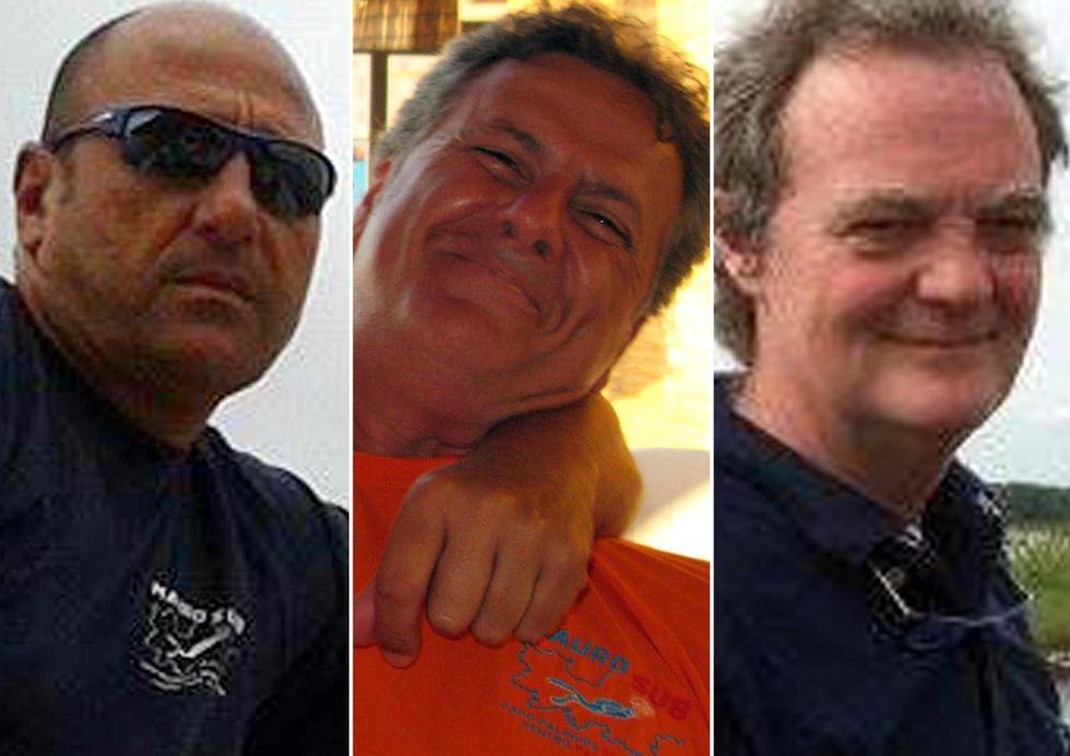 Palinuro, chi erano i tre sub morti durante un'immersione