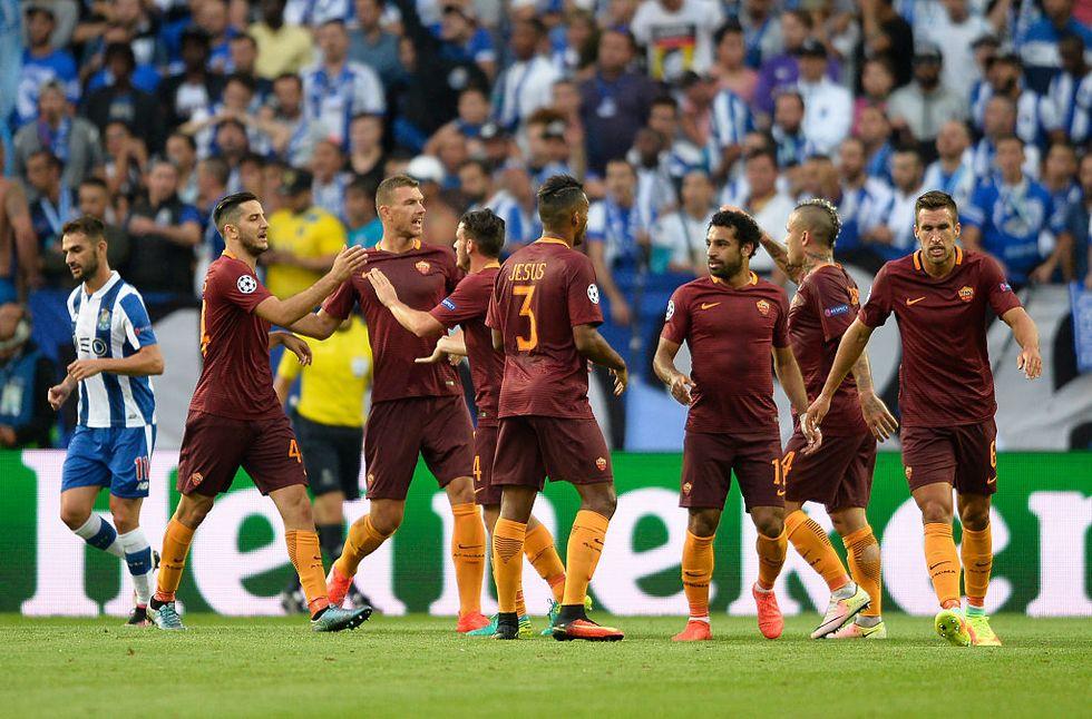 Champions league Porto Roma