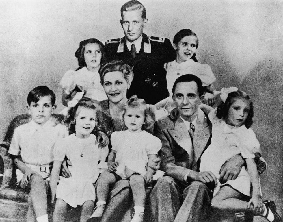 Magda Goebbels era ebrea?