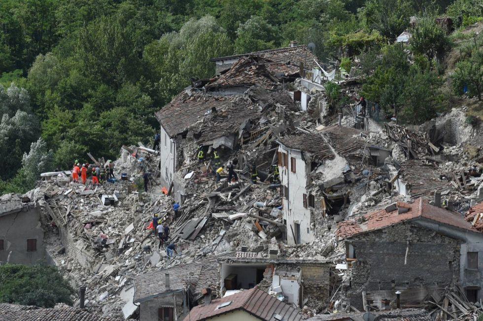 Pescara del Tronto terremoto