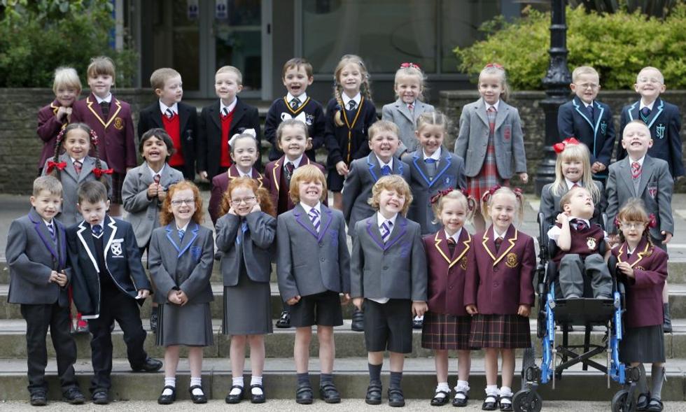 Scozia, la classe record con 19 gemelli