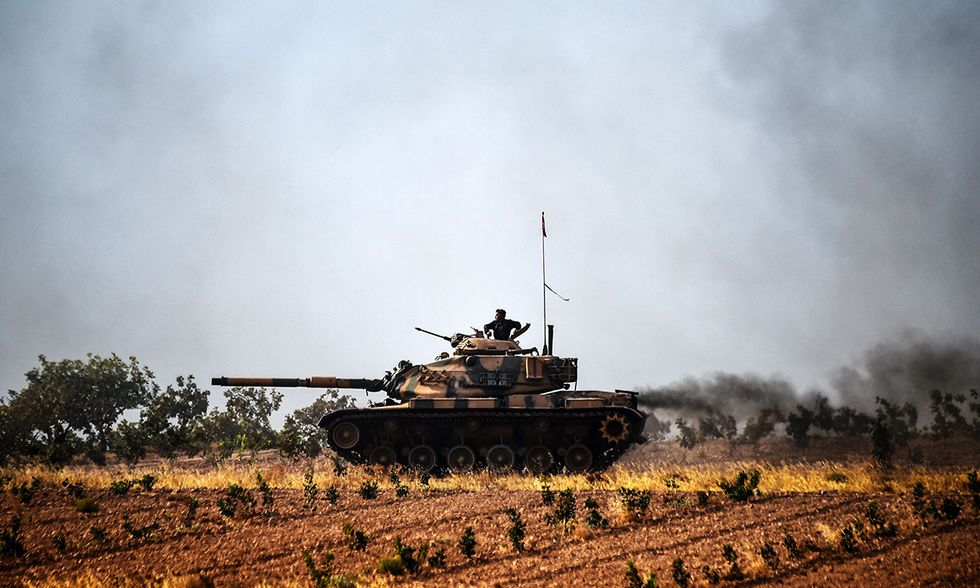 Scudo dell'Eufrate guerra Siria Turchia