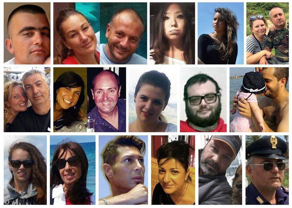 Chi sono le vittime del terremoto in Centro Italia
