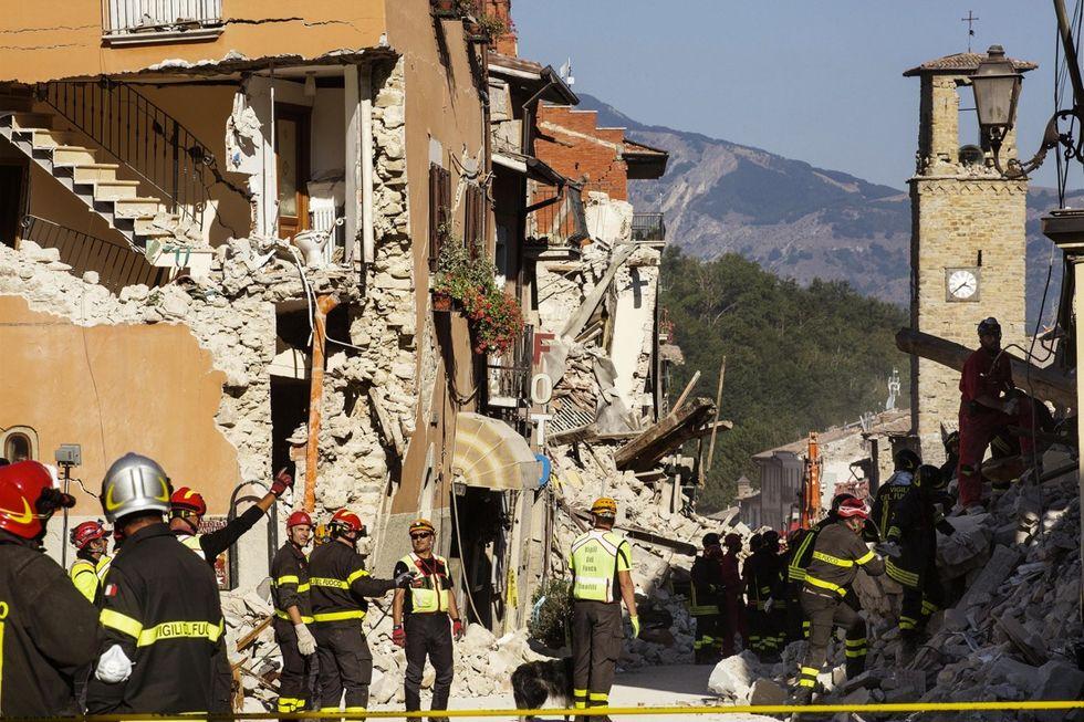 terremoto centro italia amatrice