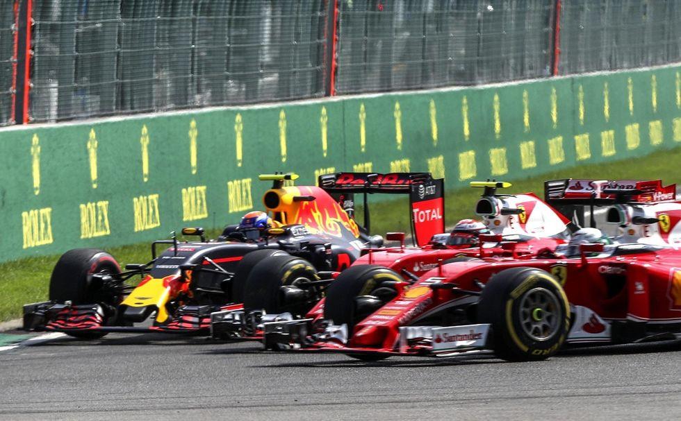 Gp Belgio, Ferrari k.o. Colpa di Verstappen, ma anche di Vettel