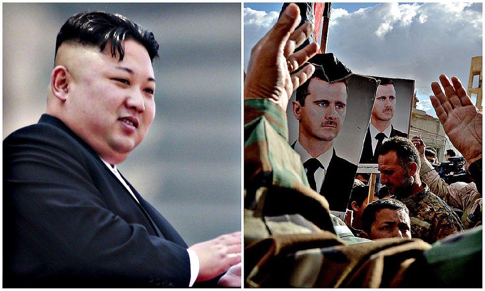 kim-jong-un-Assad