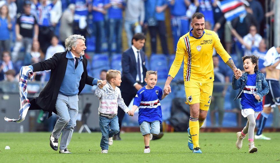 Sampdoria - Lazio 2-1, le immagini più belle
