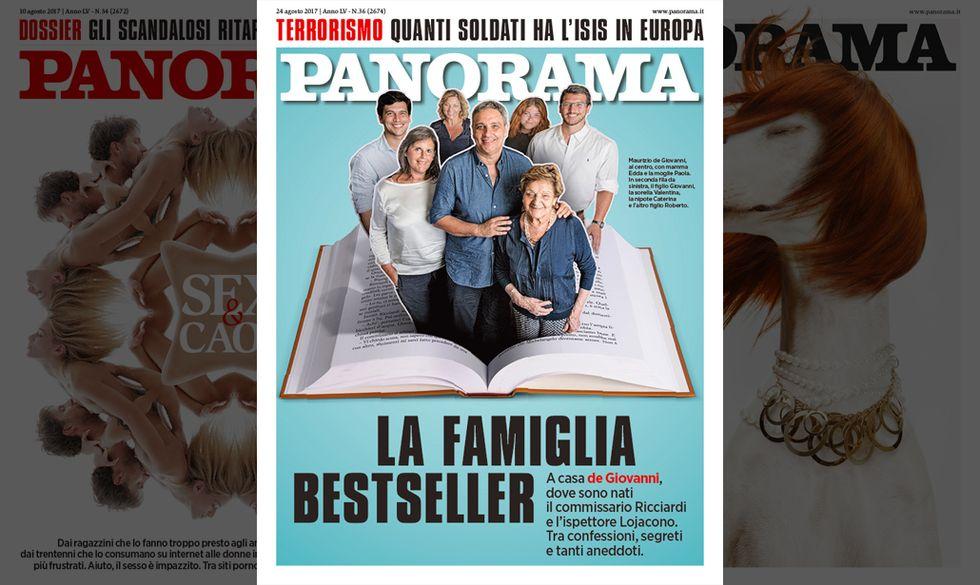 La copertina di Panorama n. 24 agosto 2017