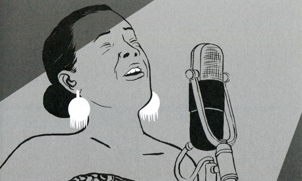 'Coltrane' e 'Blues for Lady Day': il jazz a fumetti